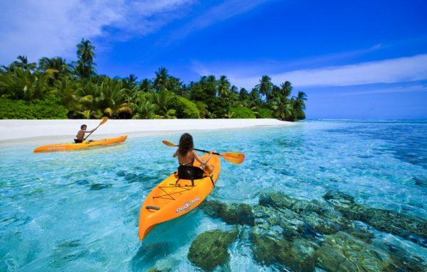 Зимняя поезка на Мальдивы