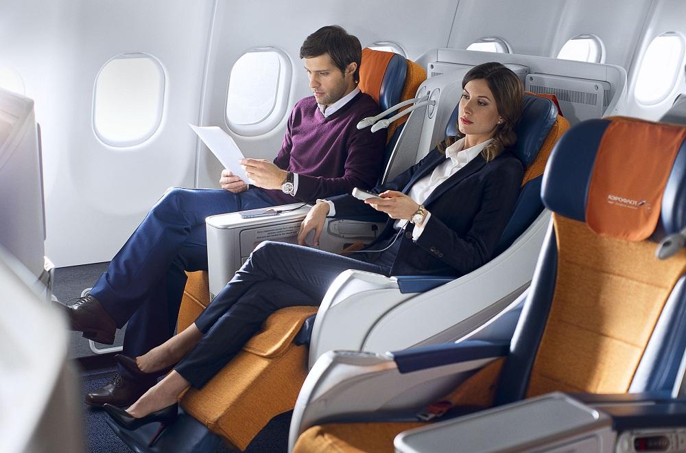 Условия класса бизнес в компании Аэрофлот