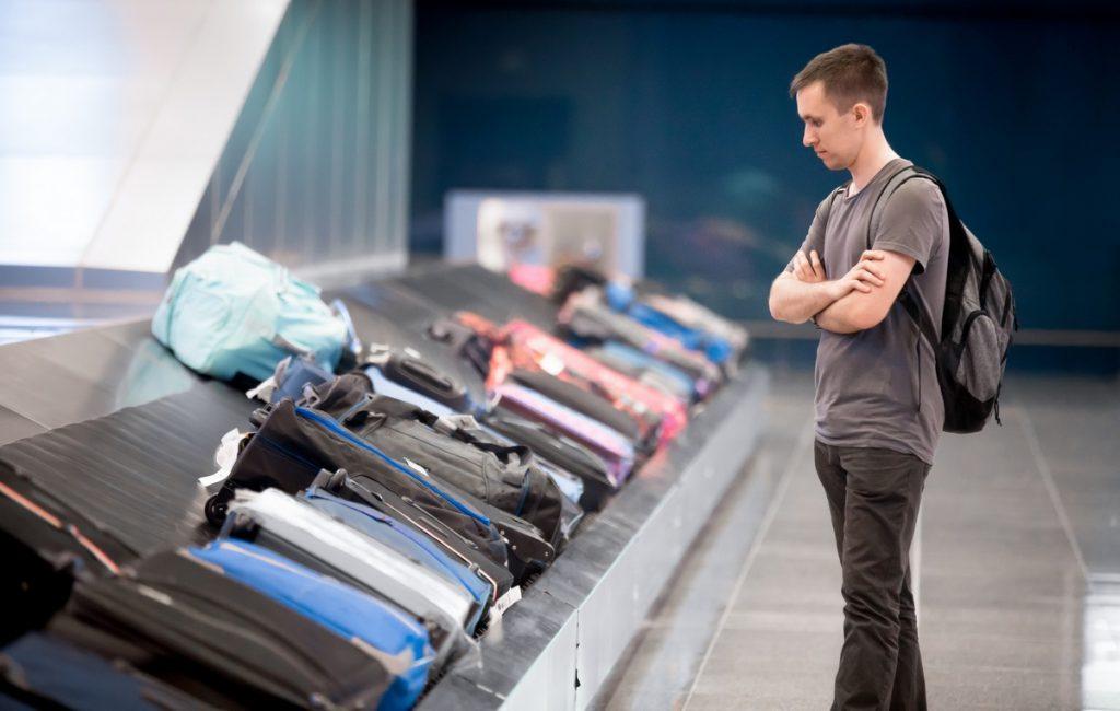 Утеря багажа в аэропорту прибытия