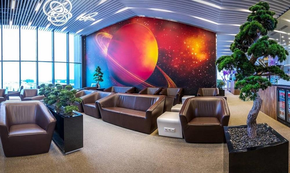 ВИП-зал Космос в терминале Е Шереметьево