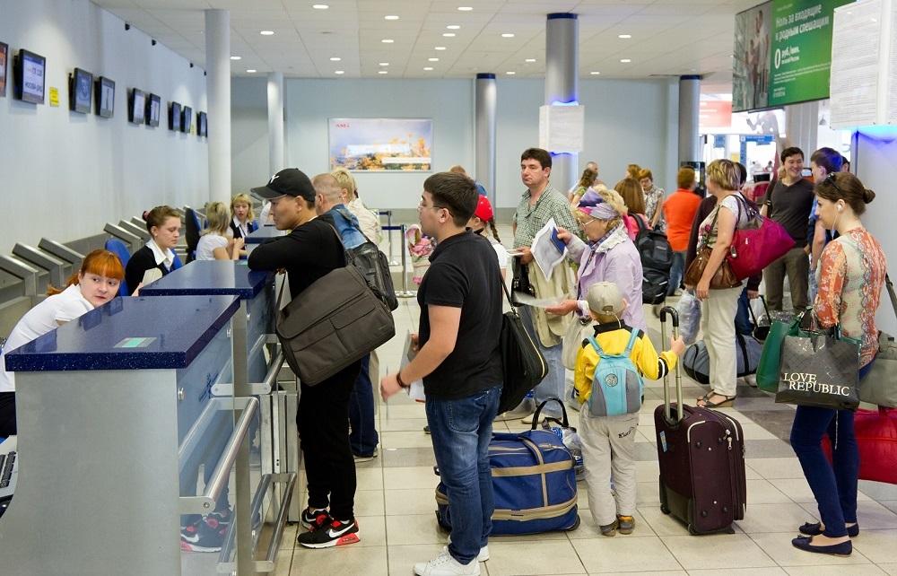 Зарегистрироваться на рейс и распечатать талон в Шереметьево